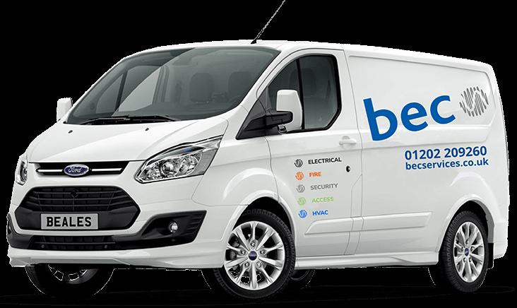 BEC Services Van